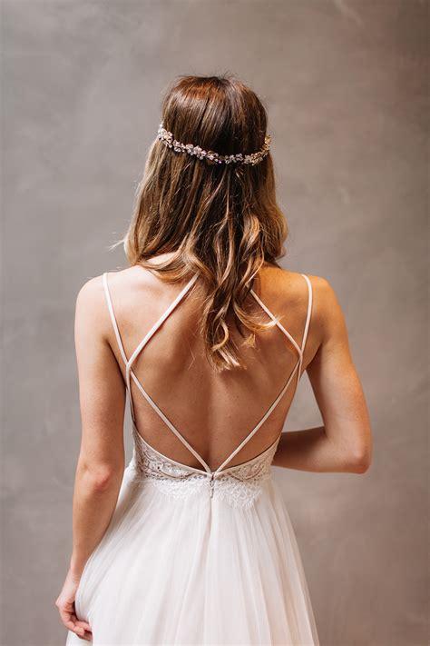 fotos vestidos de novia con escote en la espalda estos vestidos de novia sin escote son totalmente incre 237 bles