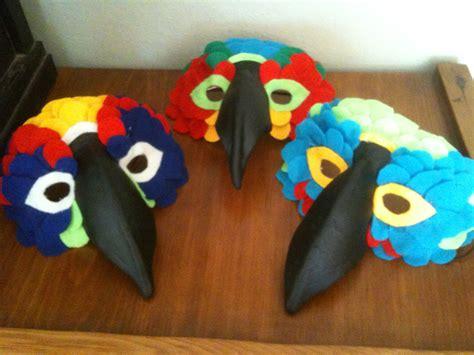 How To Make A Paper Bird Beak Mask - bird mask