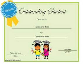 best student certificate template education certificates awards a collection of ideas to