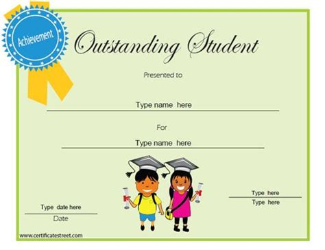 outstanding certificate template 74 best images about education certificates awards on