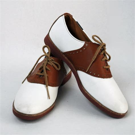 saddle oxford shoes vintage shoes lace up saddle oxfords two tone womens vintage
