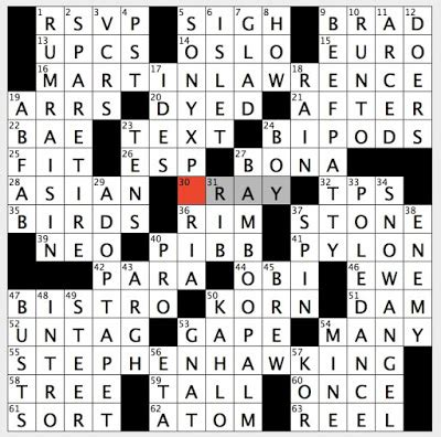 rex parker does the nyt crossword puzzle: it uses clicks