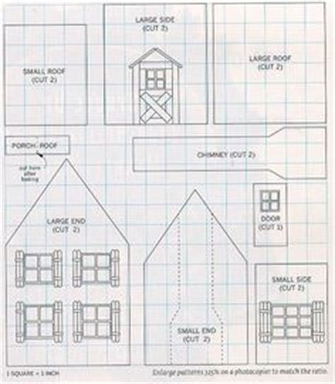 printable paper gingerbread house patterns 1000 images about gingerbread house patterns on pinterest