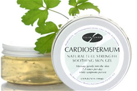 Cardiospermum Gel For Eczema by Vine Extract Offers Alternative To Steroids For