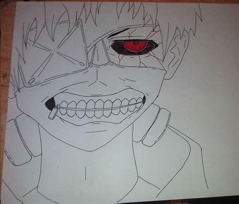 imagenes para dibujar tokyo ghoul dibujo kaneki ken tokyo ghoul by veraensumundo on deviantart