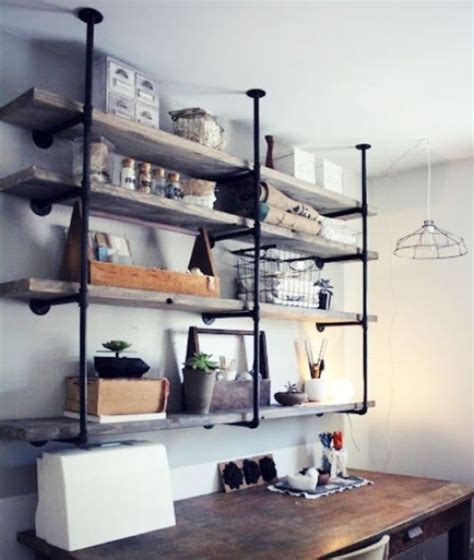 diy industrial shelves tips
