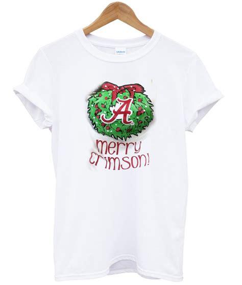 T Shirt Merry merry crimson t shirt