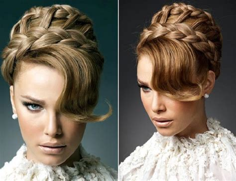 a braid hairstyle to suit a bride braided bridal hairstyles she said united states