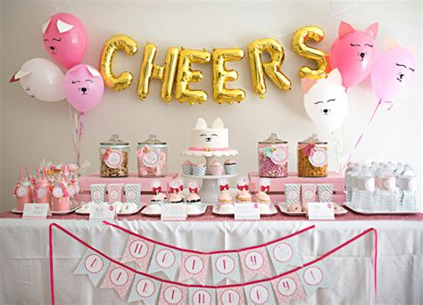 kitty cat themed birthday party kara s party ideas sweet kitty cat birthday party kara s