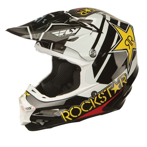 fly racing motocross helmets fly racing 2016 f2 carbon rockstar motocross helmet