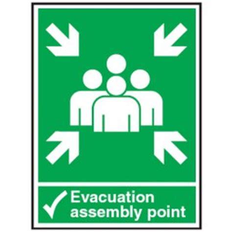 Safety Sign 3m Assembly Point Titik Kumpul a22937 jpg