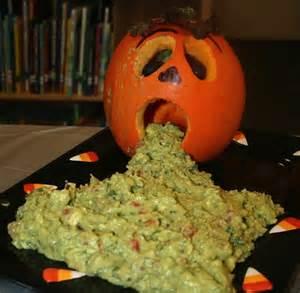 Frightful halloween finger foods