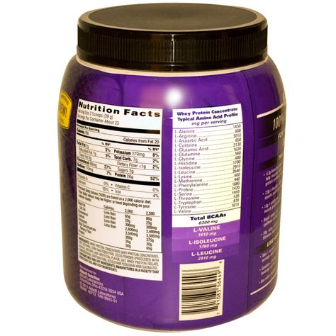 protein powder eas 100 whey protein powder chocolate 2 lbs 907 g iherb