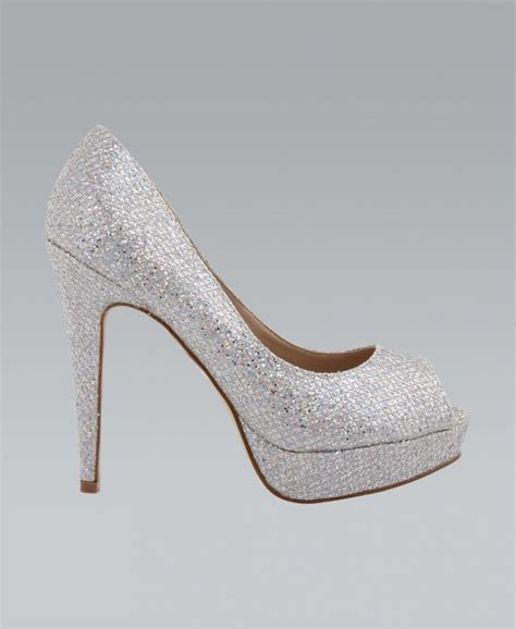 silver sparkly high heels silver glitter high heels heels me