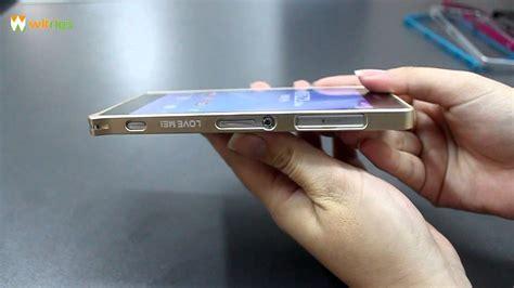 Motomo Metal Aluminium Samsung Z2 T2909 Sony Xperia Z2 Metal Bumper