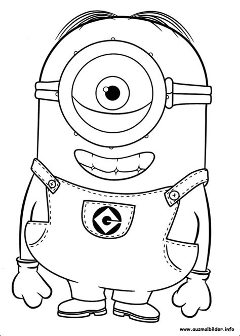 coloring pages minion stuart free coloring pages of minion stuart