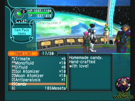 pso section id calculator pso world com items candy