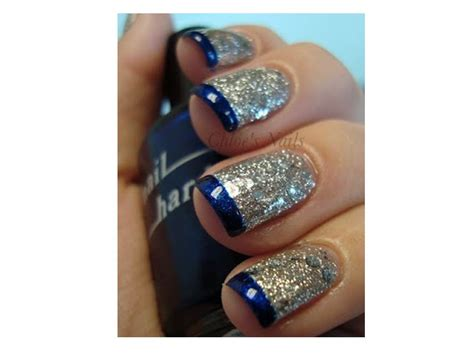 imagenes de uñas de acrilico azul marino ideas para decorar las u 241 as de azul mis u 241 as decoradas