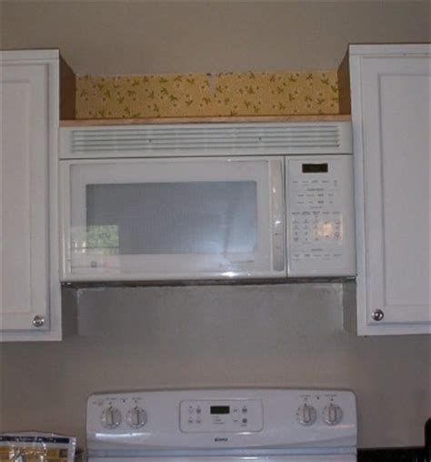 install over the range microwave without cabinet like merchant ships installing an over the range microwave