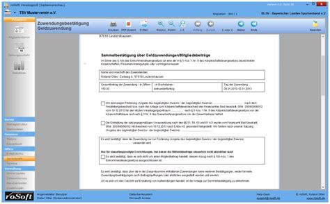 Word Vorlage Adressetiketten Serienbriefe Und Zuwendungsbest 228 Tigungen Erstellen Mit Rosoft Vereinsprofi 5 1