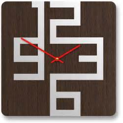design wall clock stylish wooden wall clocks with modern design digsdigs