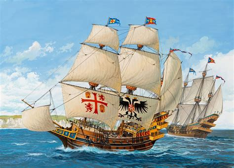 sailing boat in spanish spanish ship 16th century sailing boat pinterest