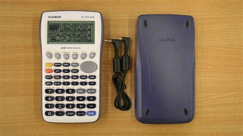 tutorial casio fx 9860gii sd casio fx 9860gii sd power graphic calculator youtube