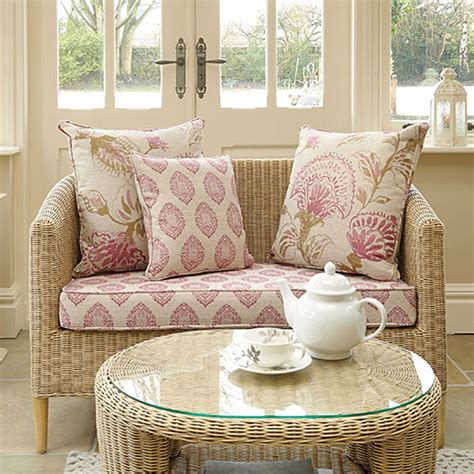 small sofas for conservatories modern style cane conservatory sofa compact rattan sofa