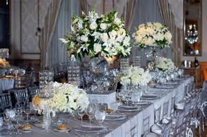 silver table centerpieces real stories a new years winter wedding sparkles in