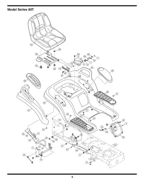 mtd lawn mower parts diagram mtd 800 series automatic garden tractor lawn mower parts list