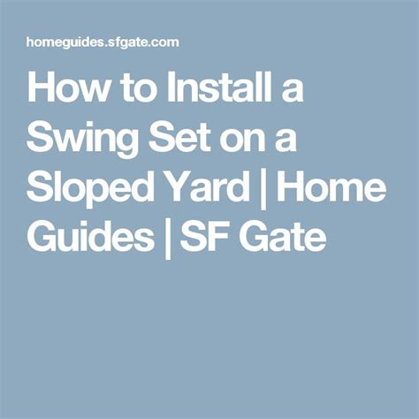 how to install swing set 107 best images about kid friendly tiered backyard on