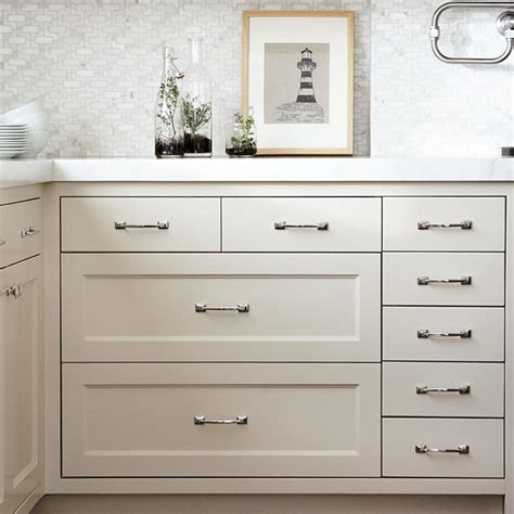arched mission drawer pull cabinet and
