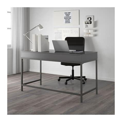 gray office desk alex desk grey 131x60 cm ikea