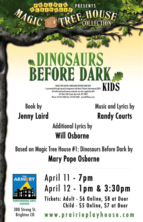 Magic Tree House Dinosaurs Before Book Report by Magic Tree House Dinosaurs Before Prairie Playhouse