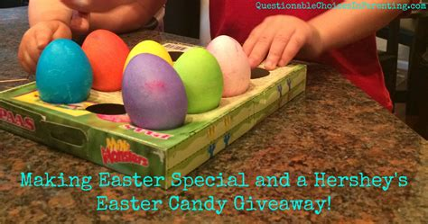 Easter Giveaway - making easter special and a hershey s easter candy giveaway