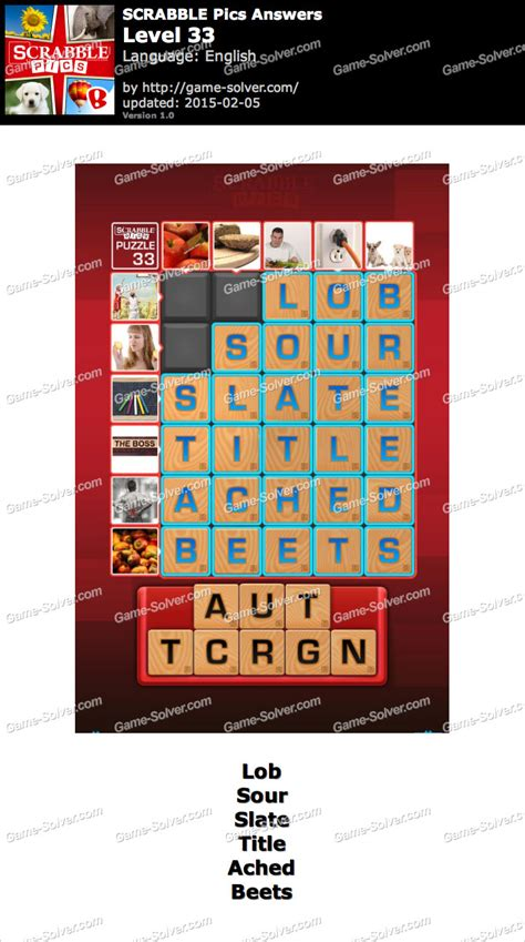 scrabble answer generator scrabble pics level 33 solver