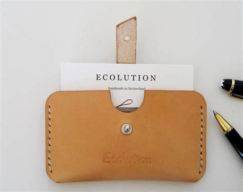 Leather Card Holder Handmade handmade leather business card holder choice image