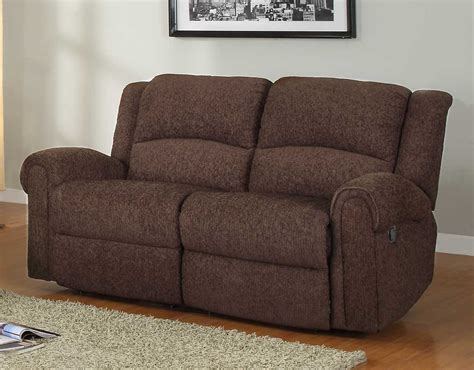 brown chenille sofa homelegance esther reclining sofa set dark brown