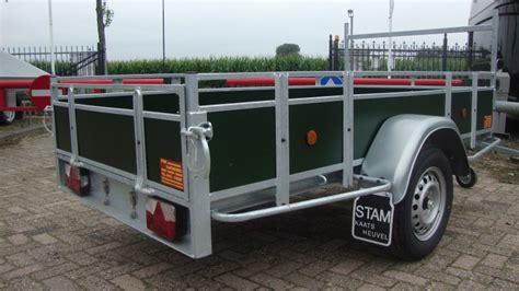 power trailer bakwagen ongeremd stam aanhangwagens