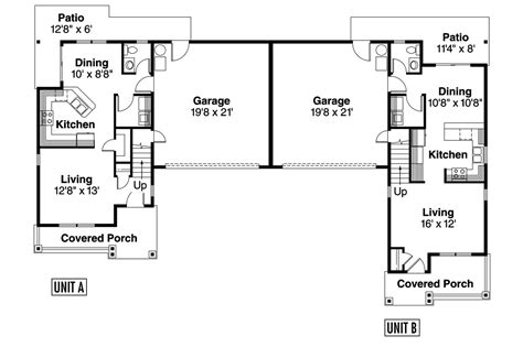 l shaped duplex plans country house plans waycross 60 018 associated designs