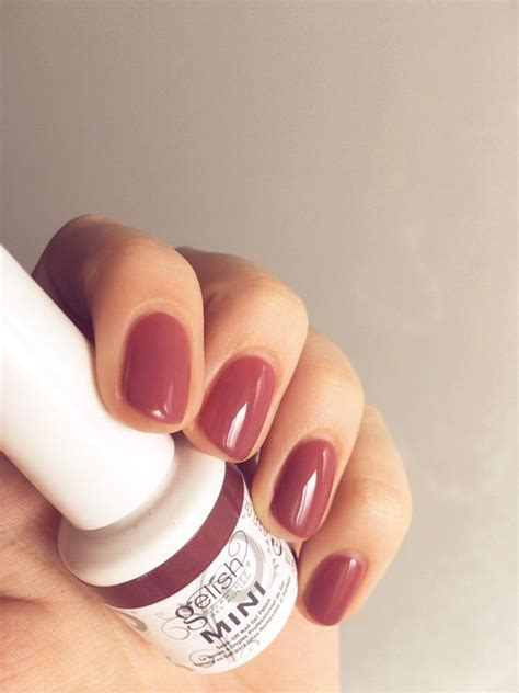 Minilove Mini Gel Wanita gelish gel mini quot exhale quot the colour gel manicure minis gelish