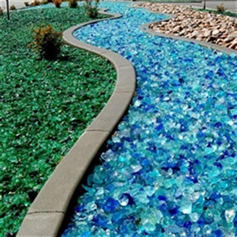 tumbled landscape firepit glass assorted color options