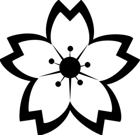 gambar bunga hitam putih yang dipakai unik