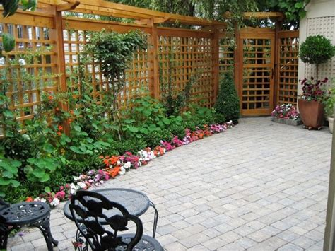 backyard trellis designs trellis garden pinterest