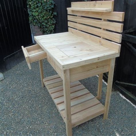 potting benches uk wooden potting bench
