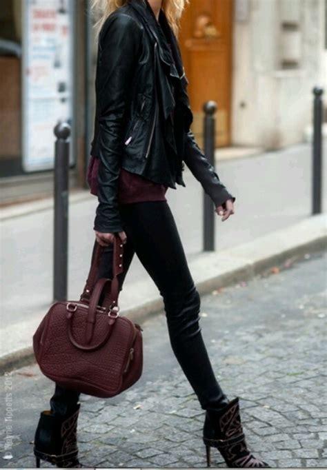 leather tight black boots dayummm you