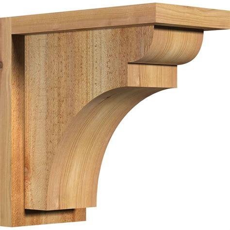 Rustic Wood Corbels ekena millwork coryor01 yorktown w backplate rustic timber wood corbel corrcoryor01