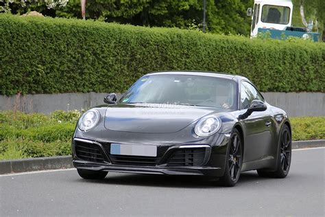 Porsche 911 Facelift by New Porsche 911 Facelift Spied On The Nurburgring And In