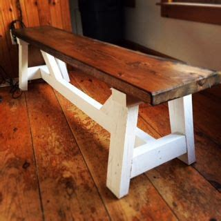 home depot trestle table diy project farmhouse bench the home depot waiting