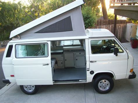 volkswagen westfalia cer interior volkswagen vanagon cer 1987 white for sale